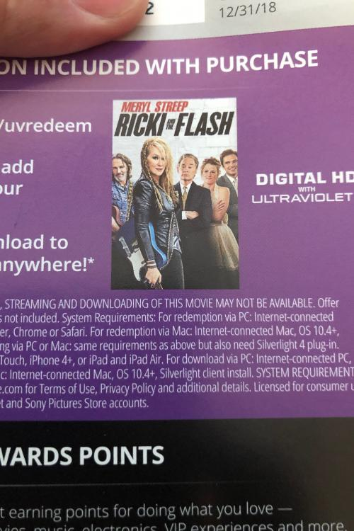Ricki and the flash HD MA