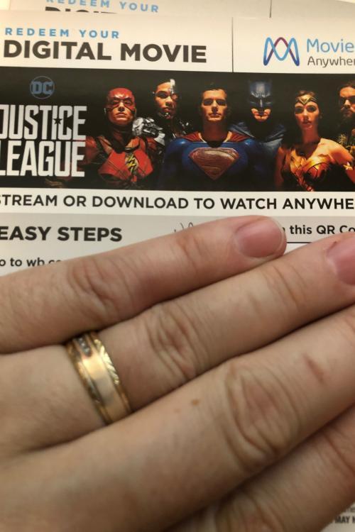 Justice league HD MA