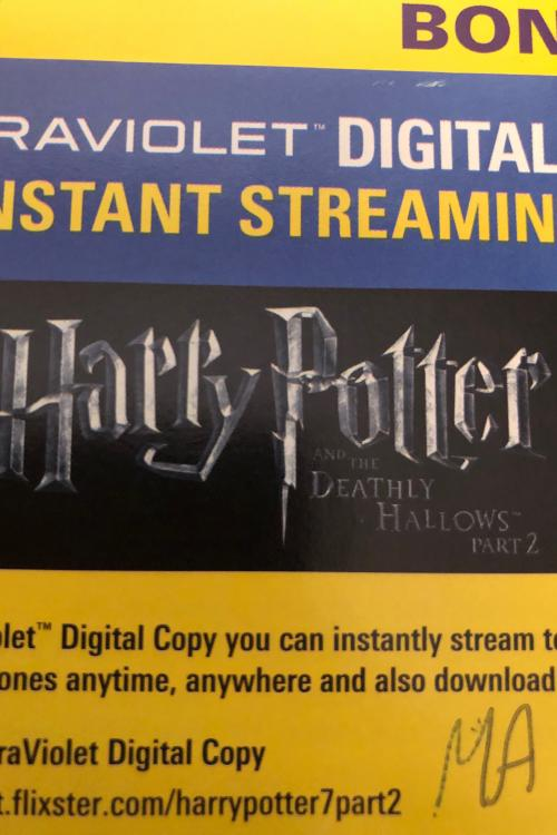 Harry Potter and the deathly hallows part 2 HD MA