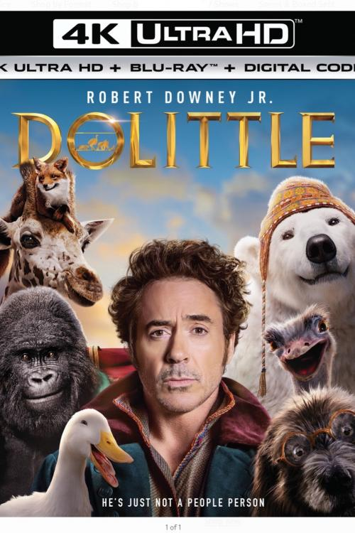 Doolittle 4K PRE- ORDER- VUDU US region only