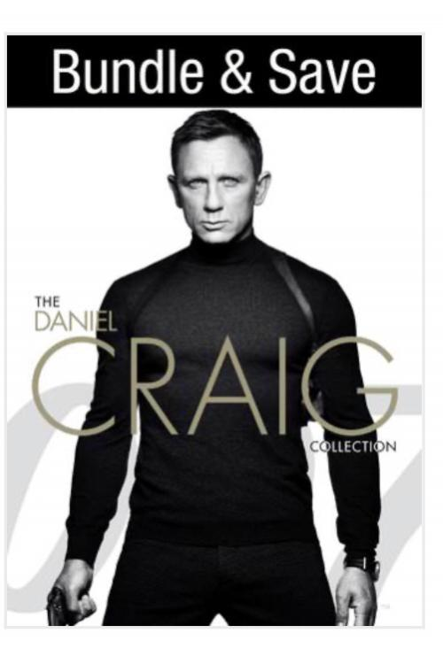 007: The Daniel Craig 4-Film Collection (Blu-ray)