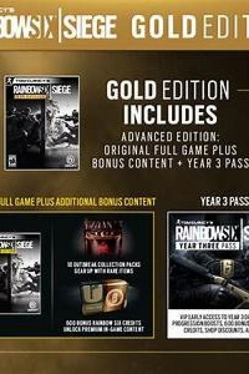 Rainbow six siege gold edition code