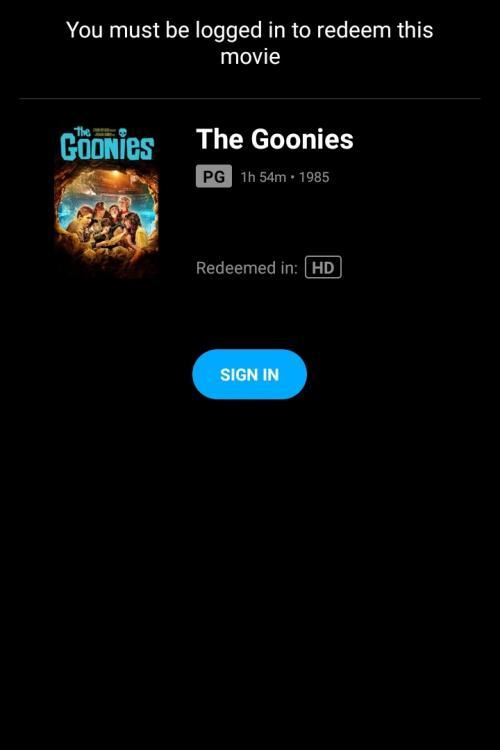 THE GOONIES HDMA