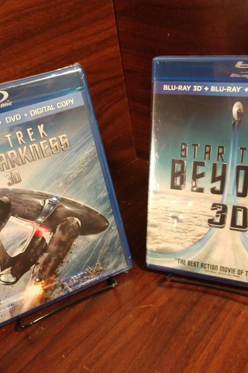 Star Trek Beyond + Star Trek into Darkness HD Digital Codes (Vudu Only - Redeems on Paramount Site)