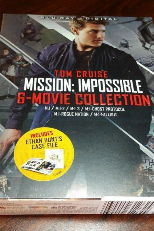 Mission Impossible 6 Movie Collection HD Digital Code (Vudu Only)-Redeems on Paramount site