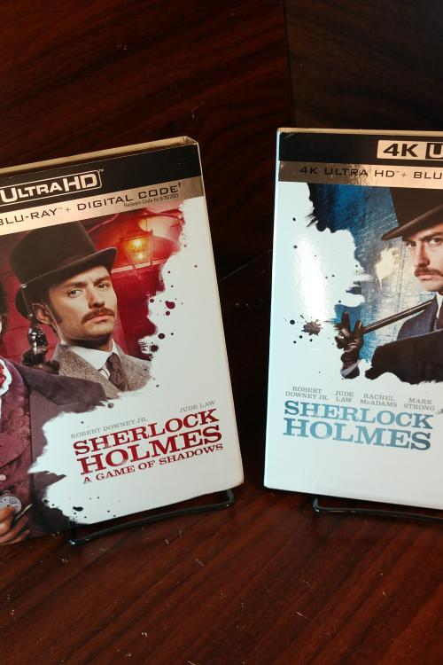 Sherlock Holmes + Game of Shadows 4KUHD Digital Codes (MoviesAnywhere)