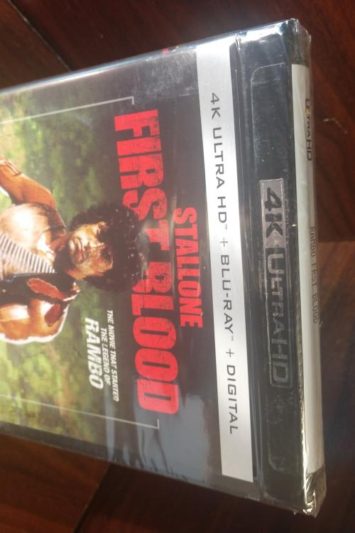 Rambo 1: First Blood (4KUHD Code Only) - Vudu/GooglePlay/Fandango (Redeems at MovieRedeem site)